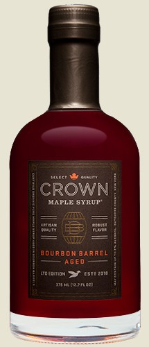 b6af9bbfcd7 Crown Maple- Bourbon Barrel Aged Maple Syrup - Peppercorn