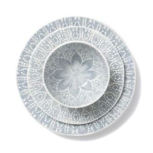 Home / Dinnerware / Vietri Viva Lace Dinner Plate in Gray  sc 1 st  Peppercorn & Vietri Viva Lace Dinner Plate in Gray - Peppercorn